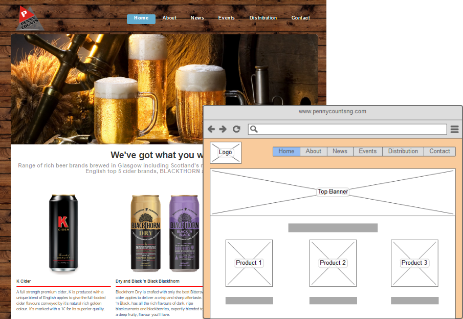 Beer website